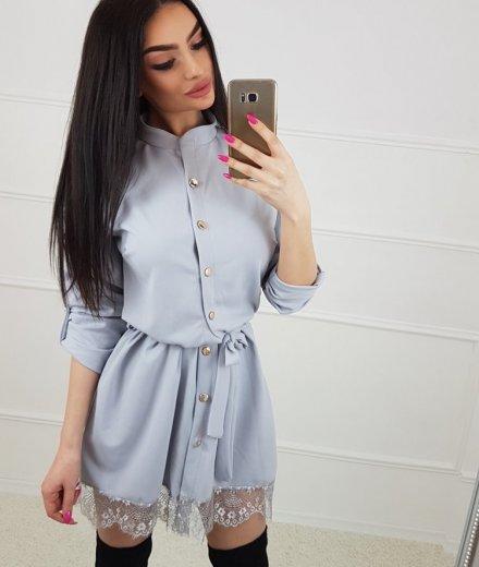 SUKIENKA ROSE - gray