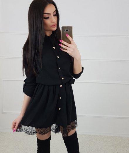 SUKIENKA ROSE - black